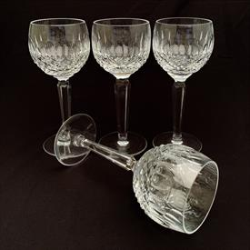 ",SET OF 4 HOCK WINE GLASSES. MADE IN IRELAND. 7.5""T X 2.75"""