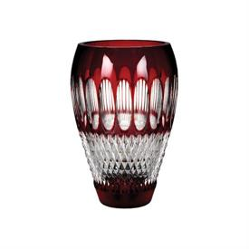 "-8"" RUBY 60TH ANNIVERSARY VASE"