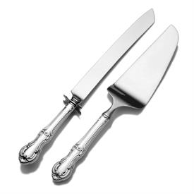 _,2 PIECE WEDDING CAKE KNIFE & PIE SERVER SET