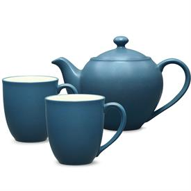 -TEA FOR 2 SET. INCLUDES 1 SMALL TEAPOT & 2 MUGS