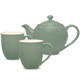 -TEA FOR TWO SET. INCLUDES 1 SMALL TEAPOT & 2 MUGS