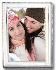 """,-111/5 5""""x5"""" BEADED FRAME WITH WOODEN BACK"""