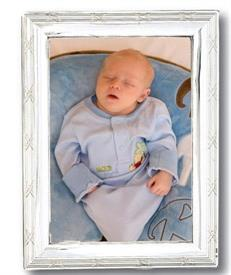"-211/P 11""x14"" RIBBON & REED FRAME WITH WOODEN BACK"
