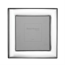 "-5X5"" NAPLES FRAME IN SILVERPLATE OVER STAINLESS STEEL. 6.25"" TALL. TARNISH RESISTANT. BREAKAGE REPLACEMENT AVAILABLE."