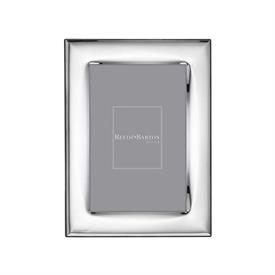 "-4X6"" NAPLES SILVERPLATE FRAME. TARNISH RESISTANT. BREAKAGE REPLACEMENT AVAILABLE."