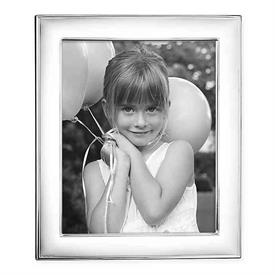 "-8X10"" NAPLES SILVERPLATE FRAME. TARNISH RESISTANT. BREAKAGE REPLACEMENT AVAILABLE."