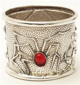 ,-SPIDER NAPKIN RING