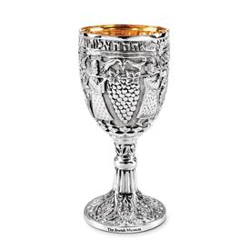 -PERSIAN KIDDUSH GOBLET 7""