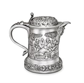 -COVERED TANKARD. 8""