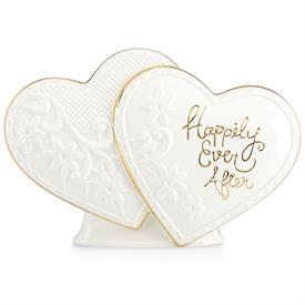 "_EVER AFTER HEARTS CAKE TOPPER BY LENOX. 6"" LONG. MSRP $50.00"