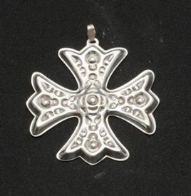 ,1975 X-MAS CROSS W/BO