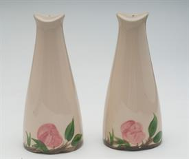"LARGE SALT & PEPPER SHAKER SET. STOPPERS INCLUDED. 6.25"" TALL"