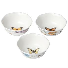 "-3 PIECE PREP BOWL SET. 4.5"" WIDE. MSRP $36.00"