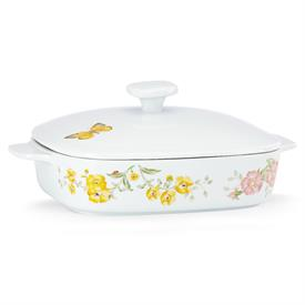 "-11.35"" COVERED CASSEROLE DISH. MSRP $72.00"