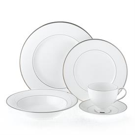 ,-40PC SET (SERVICE FOR 8). INCLUDES 8 EACH DINNER PLATES, SALAD PLATES, SOUP BOWLS, CUPS & SAUCERS. MSRP $576.00
