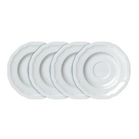 -SET OF 4 SAUCERS