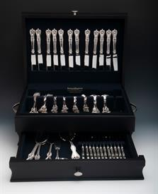 ,.79 Piece Service for 12 Luncheon French Blade Old Colonial Sterling Silverware by Towle  Price Was: $3,258
