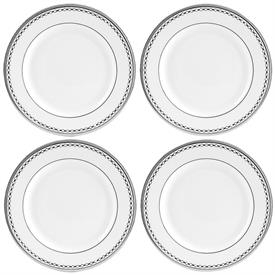 -4 PIECE TIDBIT PLATE SET. MSRP $120.00