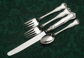 ,4 PIECE DINNER SETTINGS, INCLUDES KNIFE, FORK, SALAD FORK AND TEASPOON