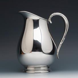 ",Water Pitcher Royal Danish by International Sterling Silver weight 23.30 troy ounces 8.5"" tall beautiful condition"