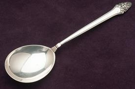",LARGE CHOP SPOON. 10.5"" LONG, 4.15 TROY OUNCES"