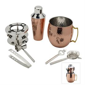 -6 PIECE MOSCOW MULE BAR SET. MSRP $150.00