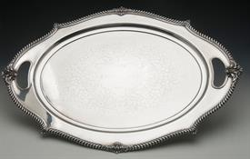 "OVAL TRAY 26"" LONG BY 18"" AT WIDEST   POINT"