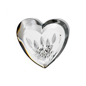 """-3.5"""" HEART PAPERWEIGHT"""