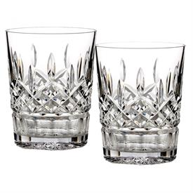 -SET OF 2 DOUBLE OLD FASHIONED GLASSES