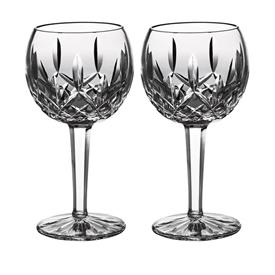 ,-SET OF 2 BALLOON WINE GLASSES