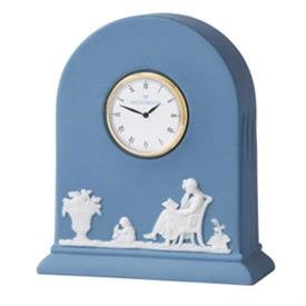 -CLOCK PALE BLUE