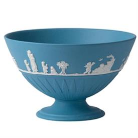 -FOOTED BOWL PALE BLUE