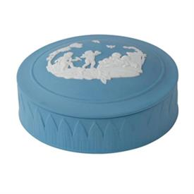 -TRINKET BOX PALE BLUE